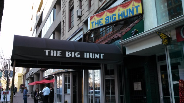 The Big Hunt - one of DC's dives