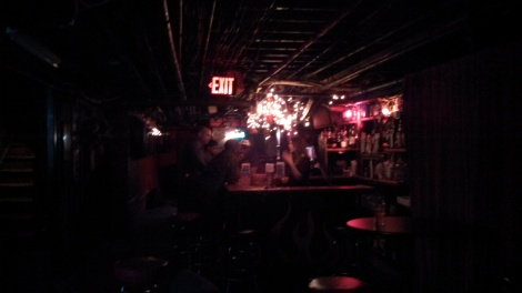 Basement bar at Big Hunt