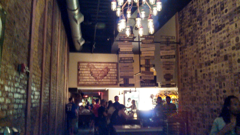 Bar & Front area at GBD