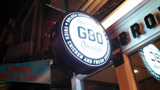 GBD's cool sign