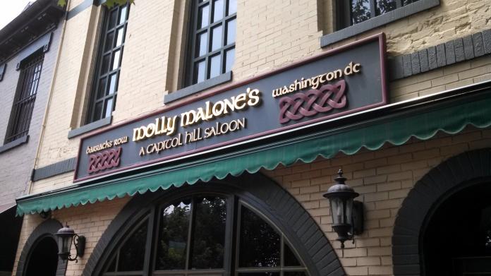 Starting the crawl at Molly Malone's