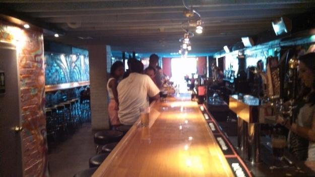 Basement bar at The Black Squirrel