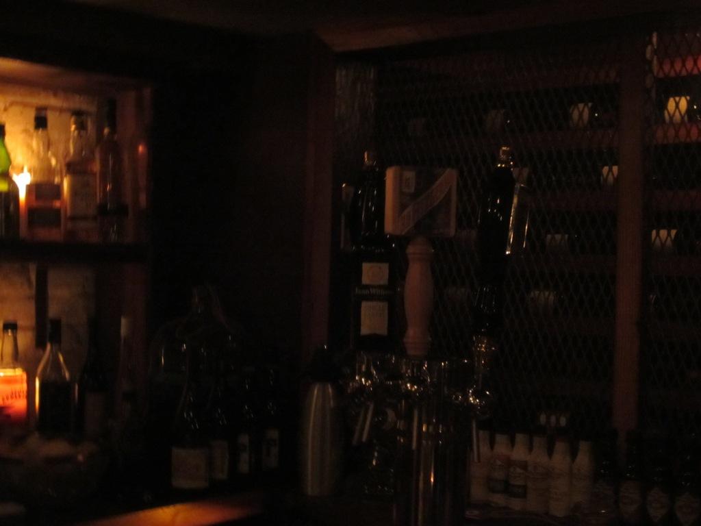 Whiskeys on Tap in Whiskey Cellar