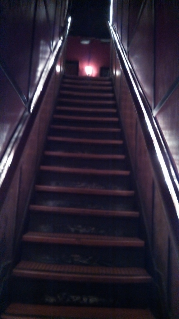 Legendary stairs to 3rd floor