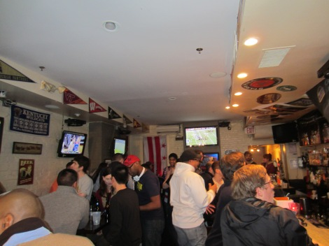 Nice atmosphere at Touchdown's