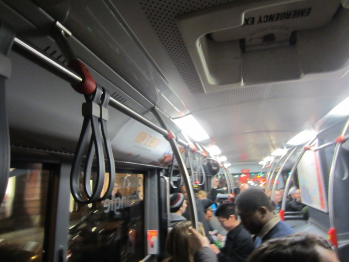 Traveling on last Barred in DC Bus Tour