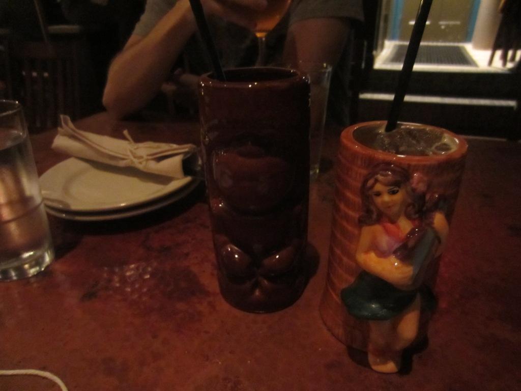 Tiki drinks at Bar Charley