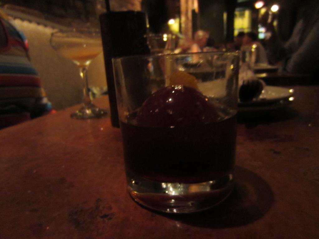 One of the fancier cocktails