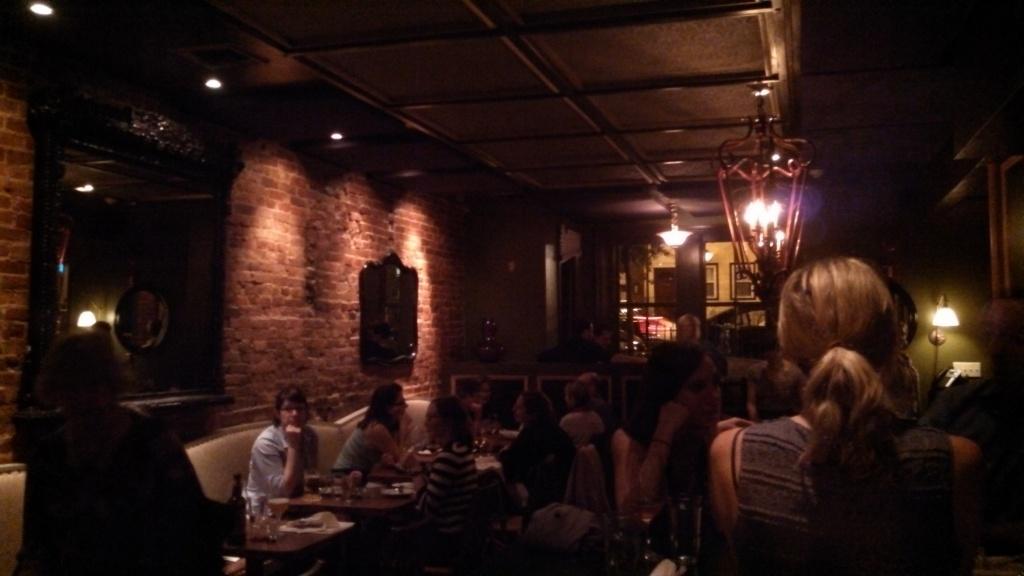 The dining room at Bar Charley