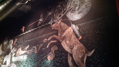 Awesome decor at Right Proper
