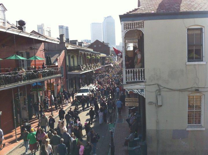 Recreate this Mardi Gras Scene in DC
