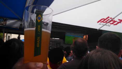 Weihenstephan World Cup beer glass