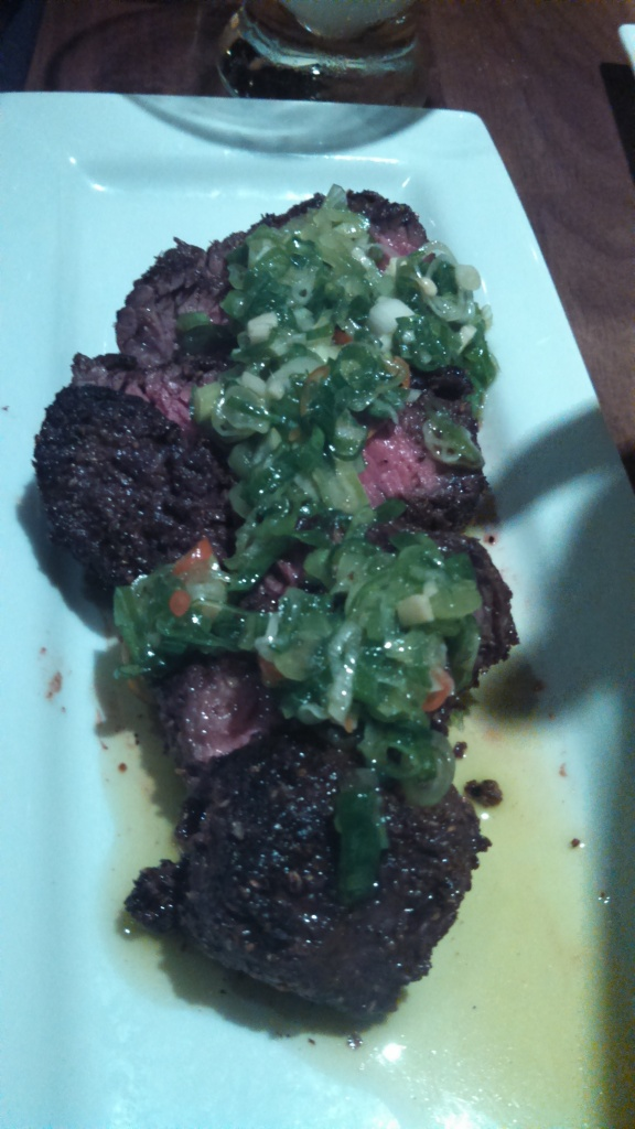 Delicious Hanger steak