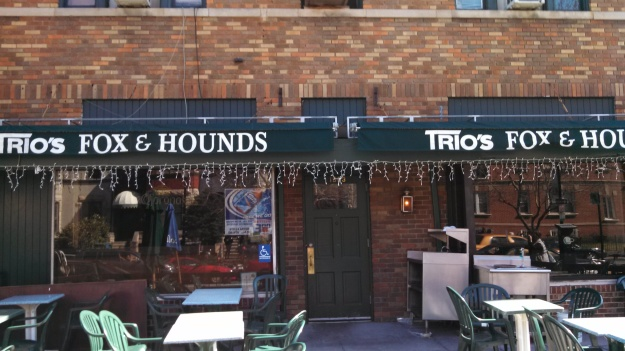 Trio's Fox & Hounds (photo by Barred in DC)