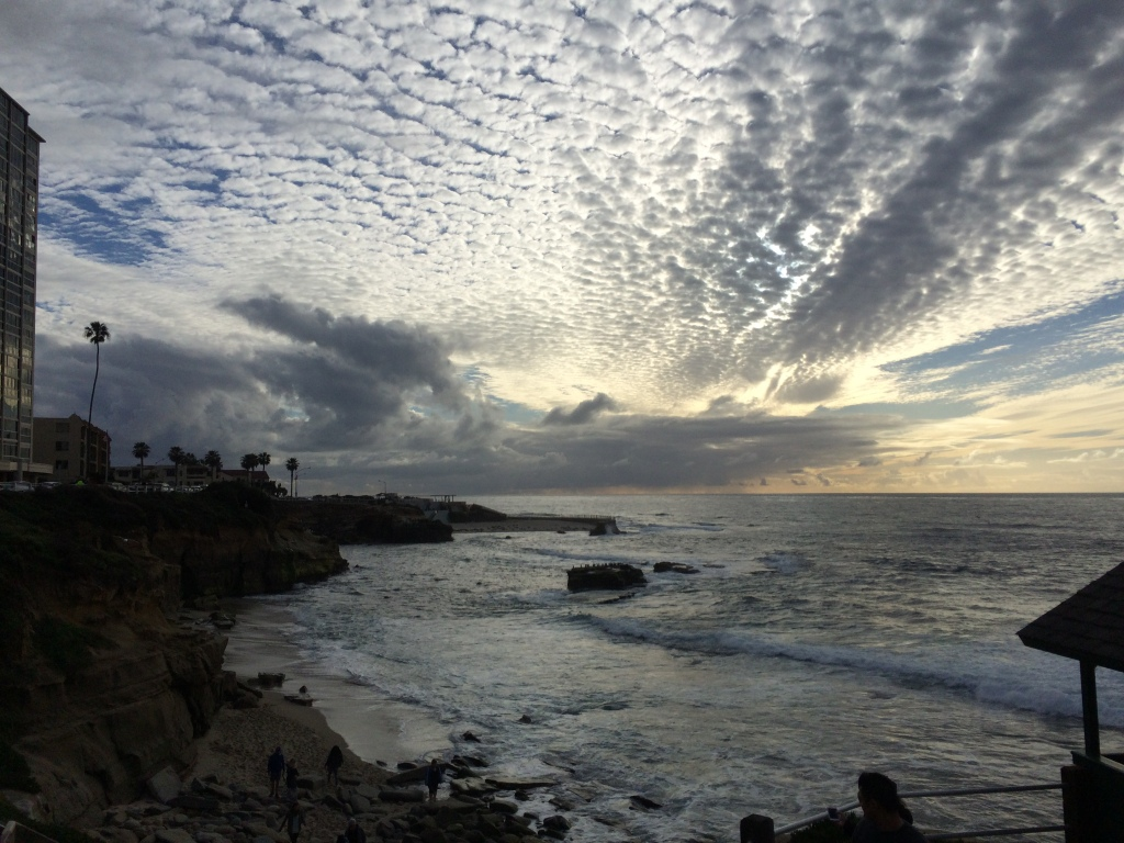 View from La Jolla Cove in San Diego