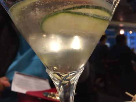 Cucumber Martini