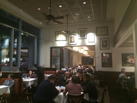 Dining room at Cafe Deluxe West End