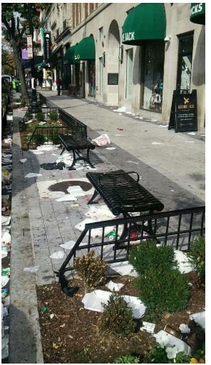 Aftermath of Nightmare on M Street Bar Crawl