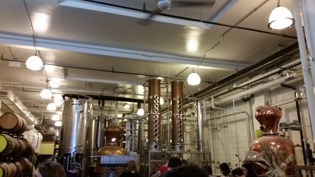 New Columbia Distillers - interior