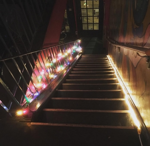 Stairway to Broken Dreams' Club (credit: Broken Dreams' Clubs Instagram)