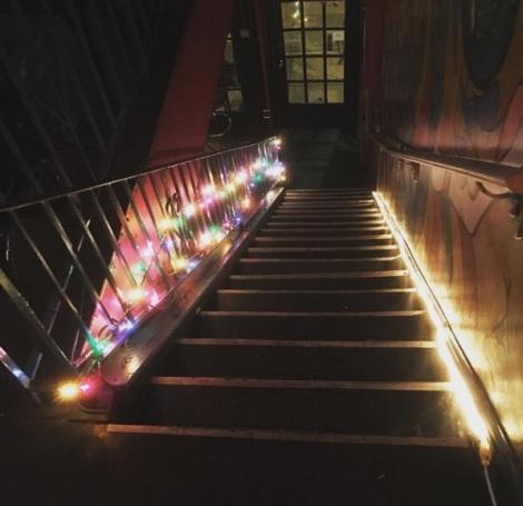 Stairway to Broken Dreams' Club (credit: Broken Dreams' Clubs Instagram)