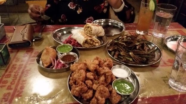 Tremendous food at Chani Pani
