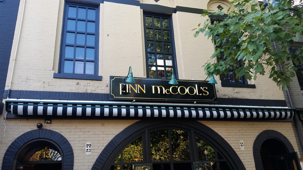 Molly Malone's has been renamed Finn McCool's