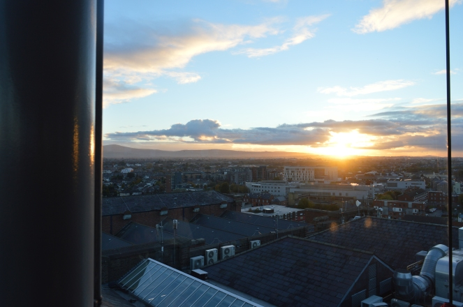 View from the Guinness Brewery Gravity Bar