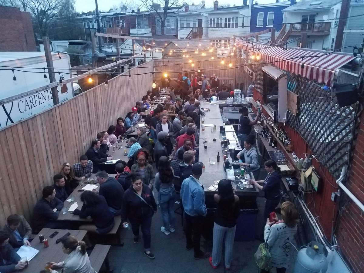 Outdoor Bars And Beer Gardens In Dc Barred In Dc
